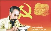 Lernen und Arbeiten nach dem Vorbild Ho Chi Minhs mit aktuellem Parteiaufbau