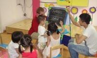 Entdeckung der Welt im Kinderpark
