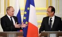 Uneinstimmigkeit zwischen Russland und Frankreich zur Lösung der Syrien-Krise