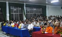 Verwaltungsstab im Südwesten beglückwünscht den Khmer zum Sen Dolta-Fest