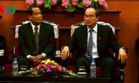 Zusammenarbeit zwischen den vaterländischen Fronten Vietnams und Kambodschas