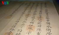 Werte der königlichen Dokumente der Nguyen-Dynastie