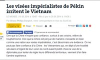 Französische Medien kritisieren China wegen Aktivitäten im Ostmeer