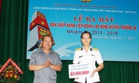 Vorstand der Arbeitsunion auf der Inselgruppe Truong Sa