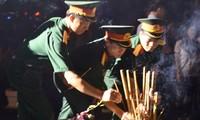 Aktivitäten zum Jahrestag der Kriegsinvaliden und der gefallenen Soldaten