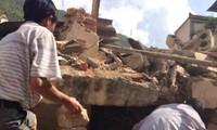 Starkes Erdbeben in China mit großen Schäden