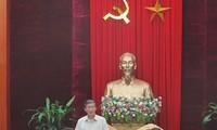 """Beschleunigung der Kampagne """"Lernen und Arbeiten nach dem Vorbild Ho Chi Minhs"""""""
