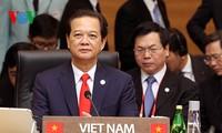 Premierminister Nguyen Tan Dung nimmt am Gipfel zwischen Südkorea und der ASEAN