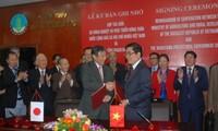 Vietnam und Japan unterzeichnen Absichtserklärung über Zusammenarbeit in der Landwirtschaft