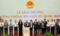 Veröffentlichung des Internetportals des vietnamesischen Parlaments