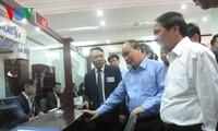 Vizepremierminister Nguyen Xuan Phuc trifft Vertreter der Stadtführung von Hai Phong