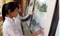 """Ausstellung """"Hoang Sa und Truong Sa von Vietnam-juristische und historische Beweise"""""""