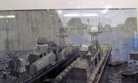 Ausstellung über Inseln, Meere und Marinesoldaten