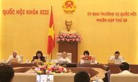 Ständiger Ausschuss des Parlaments diskutiert Entwurf des geänderten Zivilgesetzbuches