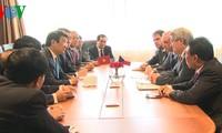 Weitere Aktivitäten des Staatspräsidenten Truong Tan Sang in Tschechien
