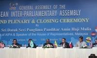 Ende der interparlamentarischen Versammlung der ASEAN (AIPA) in Malaysia