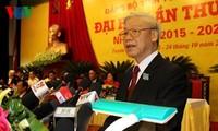 Spitzenpolitiker nehmen an Parteikonferenz in den Provinzen Tuyen Quang und Thua Thien-Hue teil