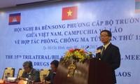Kambodscha, Laos und Vietnam arbeiten im Drogenkampf zusammen