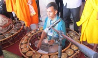 Die fünf Musikinstrumente der Volksgruppe der Khmer in Südvietnam