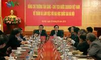 Hanoier Universität soll mehr beim Aufbau des Landes helfen