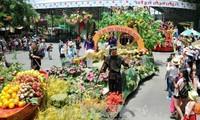 Eröffnung des Festes der Früchte in Südvietnam