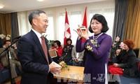 Vizestaatspräsidentin Dang Thi Ngoc Thinh besucht die Schweiz