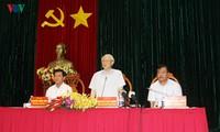 KPV-Generalsekretär Nguyen Phu Trong besucht die Provinz Ba Ria-Vung Tau