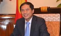 Politische Konsultation zwischen Vietnam und Weißrussland