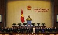 Parlament: Vollenden der neuen Entwicklungsphase