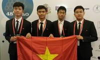 Vietnam erreicht zwei Goldmedaillen in der Chemie Olympiade