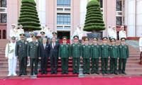 Staatspräsident Tran Dai Quang empfängt indonesischen Verteidigungsminister