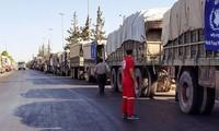 UNO stellt humanitäre Hilfe für Syrien ein