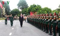 Staatspräsident Tran Dai Quang nimmt an Feier zum 70. Jahrestag der Militärzone 2 teil