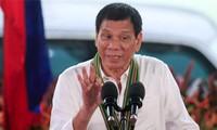 Philippinischer Präsident Rodrigo Duterte besucht China