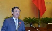 Finanzminister spricht vor Parlament über Staatsschulden