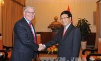 Vizepremierminister, Aussenminister Pham Binh Minh empfängt australischen Botschafter