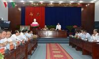 KPV-Generalsekretär Nguyen Phu Trong besucht Bac Lieu