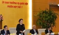 Eröffnung der Sitzung des Ständigen Parlamentsausschusses