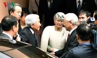 KPV-Generalsekretär Nguyen Phu Trong trifft japanisches Kaiserpaar