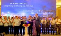 Eröffnung des Internet-Portals für Handelsinformationen Vietnams