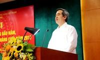 Leiter der Zentralwirtschaftskommission empfängt Vizevorsitzenden der internationalen Zusammenarbeit
