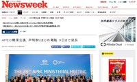 APEC 2017: Japanische Medien berichten ausführlich über APEC 2017 in Vietnam