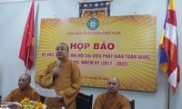 Pressekonferenz zur Vertretervollversammlung der vietnamesischen Buddhisten