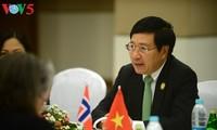 ASEM-Außenminister vertiefen Partnerschaft für Frieden und nachhaltige Entwicklung