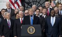 """US-Präsident begrüßt """"Historischen Sieg"""" der Steuerreform"""