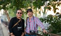 Schönheit des Lichtes unter Augen von Tran Manh Tuan und Nguyen Viet Thanh