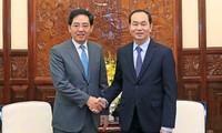 Staatspräsident Tran Dai Quang empfängt chinesischen Botschafter in Vietnam