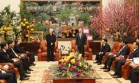 KPV-Generalsekretär Nguyen Phu Trong besucht Hung Yen