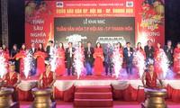 Eröffnung der Kulturwoche in Hoi An und Thanh Hoa