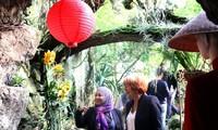 """""""Diplomatie mit Orchideen"""" zwischen Vietnam und Tschechien in Prag"""
